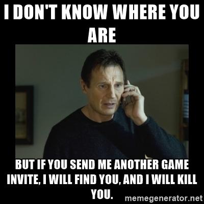 Game invite