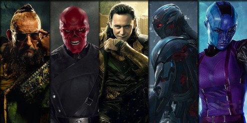 Villains Marvel