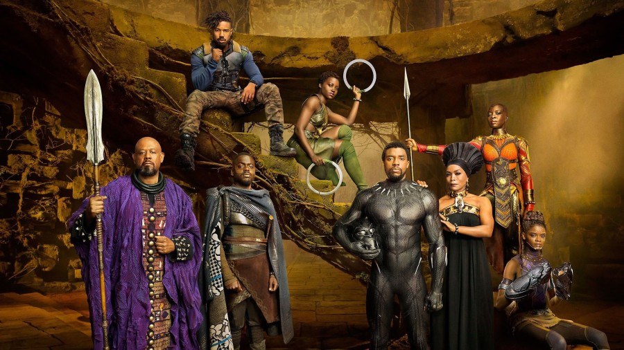 black panther family